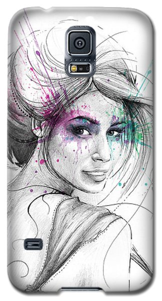 Queen Of Butterflies Galaxy S5 Case by Olga Shvartsur