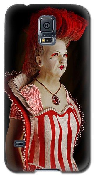 Queen Of Hearts Galaxy S5 Case
