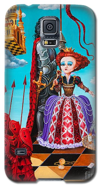 Queen Of Hearts. Part 1 Galaxy S5 Case