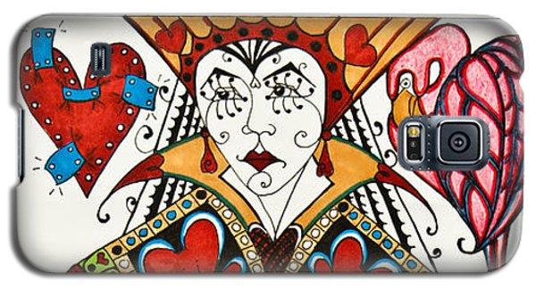 Queen Of Hearts - Wip Galaxy S5 Case