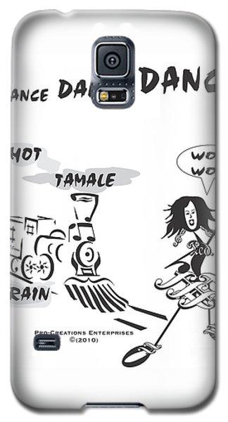 Queen Of Scream Galaxy S5 Case by Maria Watt