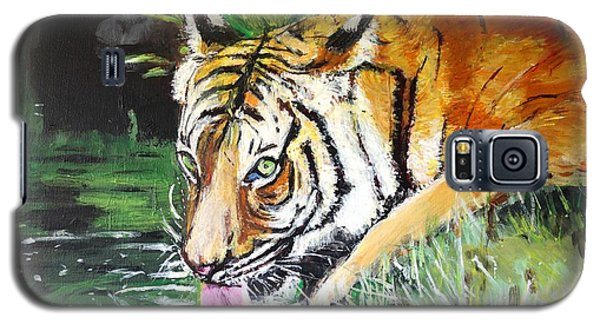 Galaxy S5 Case featuring the painting Quench by Judy Kay