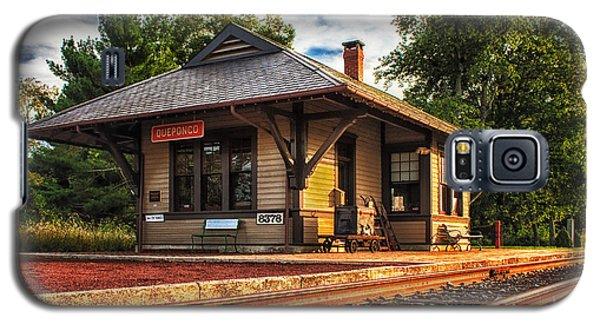 Queponco Railway Station Galaxy S5 Case