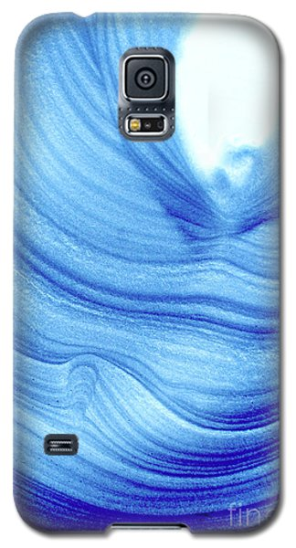Query Blue 2 Galaxy S5 Case by Jamie Lynn