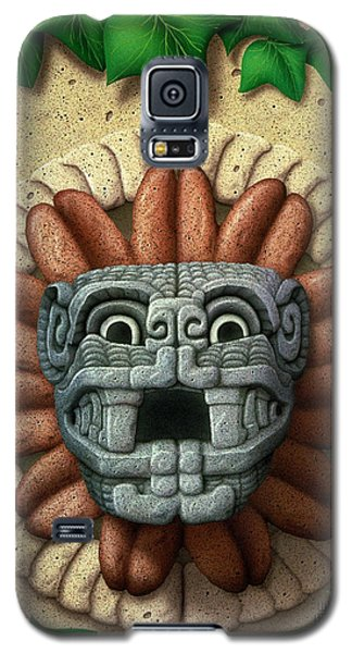 Galaxy S5 Case featuring the painting Quetzalcoatl by WB Johnston