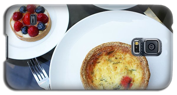 Quiche And Tart Galaxy S5 Case