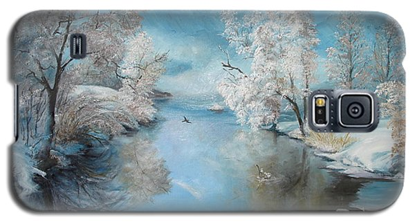 Quiet Ice  Galaxy S5 Case