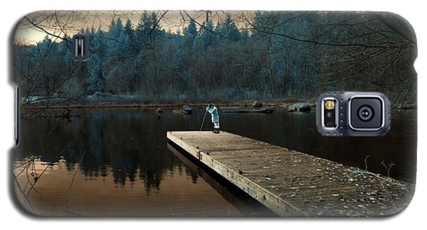 Galaxy S5 Case featuring the photograph Quiet Moments  by Rebecca Parker