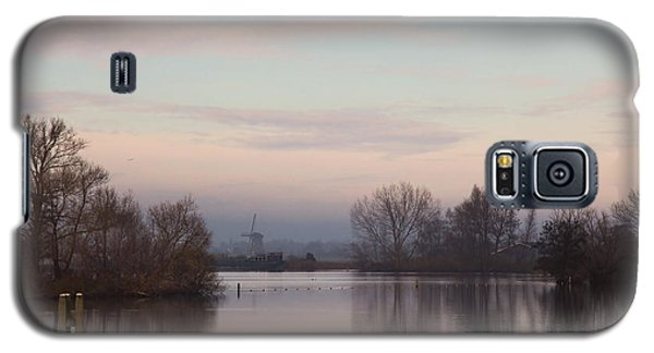 Galaxy S5 Case featuring the photograph Quiet Morning by Annie Snel