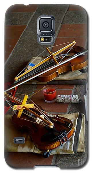 Quiet Music Galaxy S5 Case by Roseann Errigo