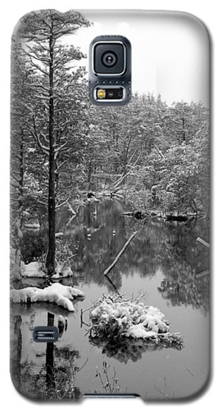 Galaxy S5 Case featuring the photograph Quiet Stram After The Snowstorm by Allen Beilschmidt