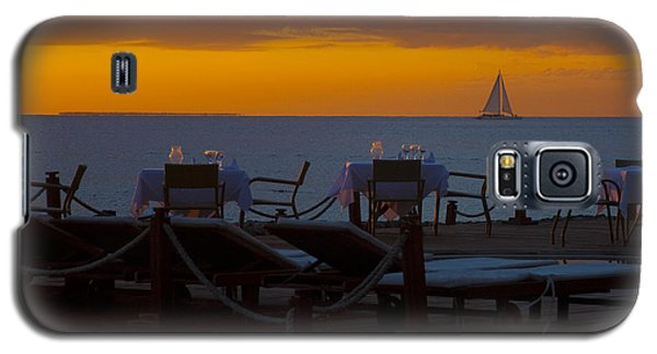 Galaxy S5 Case featuring the photograph Quiet Time ... by Chuck Caramella