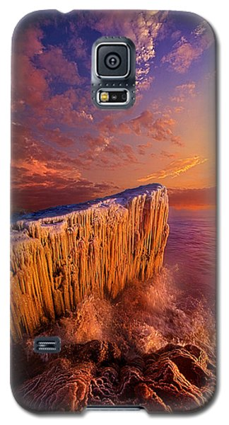 Quietly Winter Reigns Galaxy S5 Case