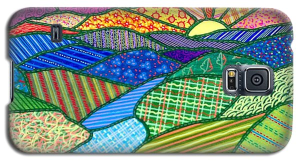 Quilted Appalachian Sunset Galaxy S5 Case