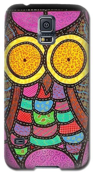 Quilted Owl Galaxy S5 Case