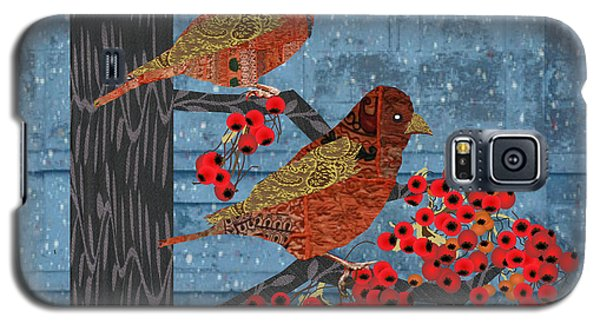 Galaxy S5 Case featuring the digital art Sagebrush Sparrow Short by Kim Prowse