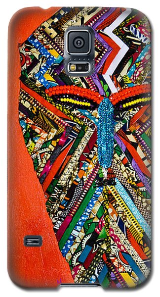 Quilted Warrior Galaxy S5 Case by Apanaki Temitayo M