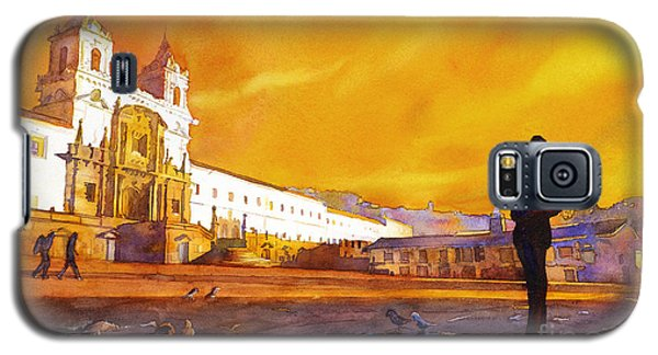 Quito Sunrise Galaxy S5 Case