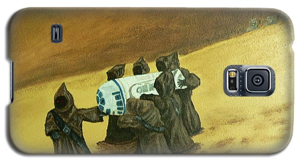 R2d2 And Jawas Galaxy S5 Case