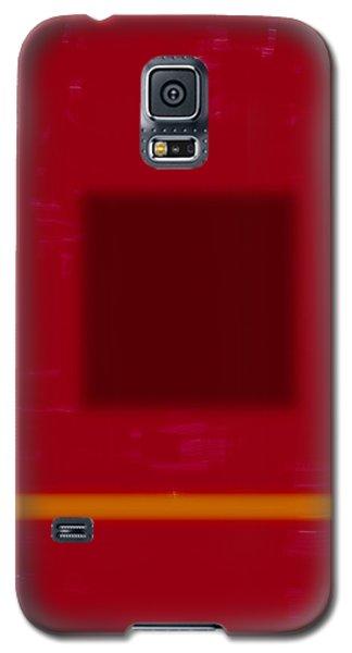 Color Field With Dark Square Galaxy S5 Case