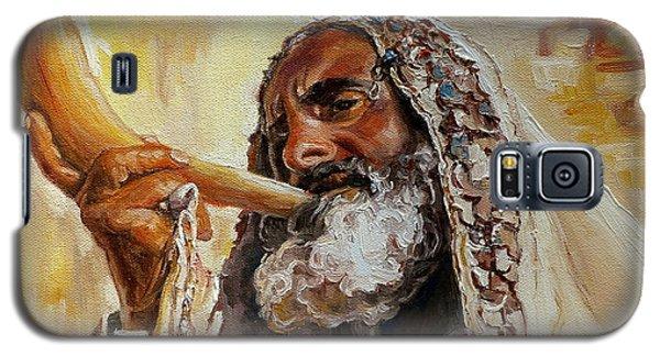 Rabbi Blowing Shofar Galaxy S5 Case
