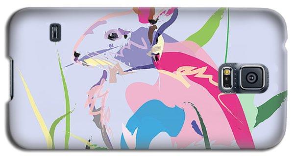 Rabbit - Bunny In Color Galaxy S5 Case