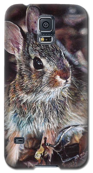 Rabbit In The Woods Galaxy S5 Case by Joshua Martin