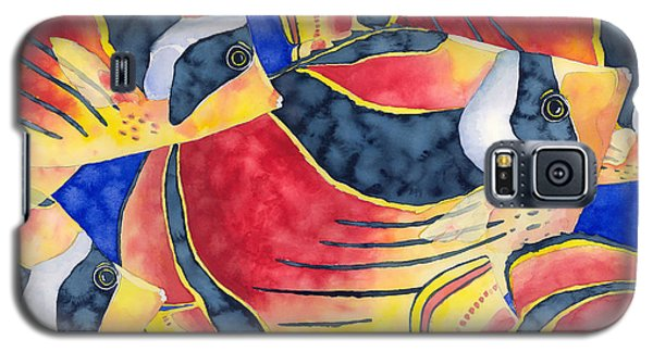 Raccoon Butterflyfish Galaxy S5 Case