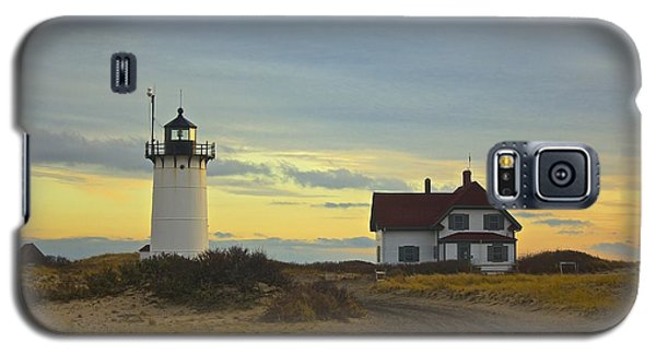Race Point Lighthouse At Sunset Galaxy S5 Case by Amazing Jules