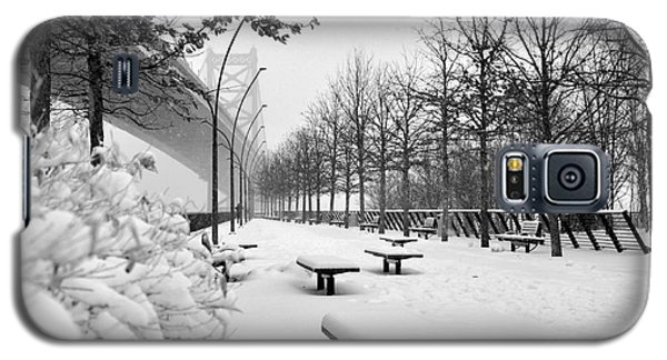 Race Street Pier - Snow Covered Galaxy S5 Case