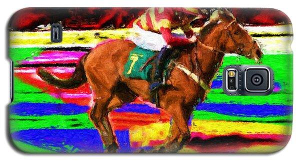 Racehorse Galaxy S5 Case by Ron Harpham