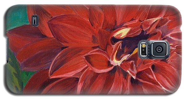 Rachael's Dahlia Galaxy S5 Case by Jodi Terracina