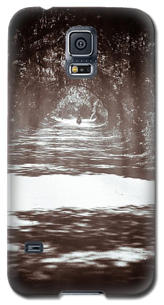 Galaxy S5 Case featuring the photograph Racin The Wind Chasin The Sun by Wade Brooks