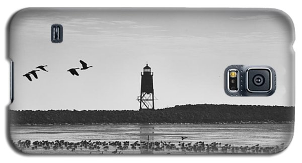 Galaxy S5 Case featuring the photograph Racine Lakefront by Ricky L Jones