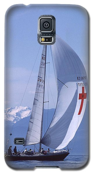 Racing 01 Galaxy S5 Case by Mark Alan Perry