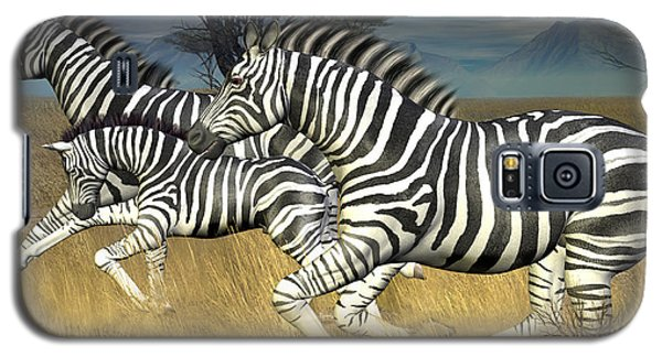 Racing Stripes Galaxy S5 Case