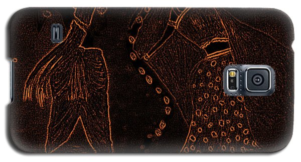 Radha Krishna Dancing Galaxy S5 Case