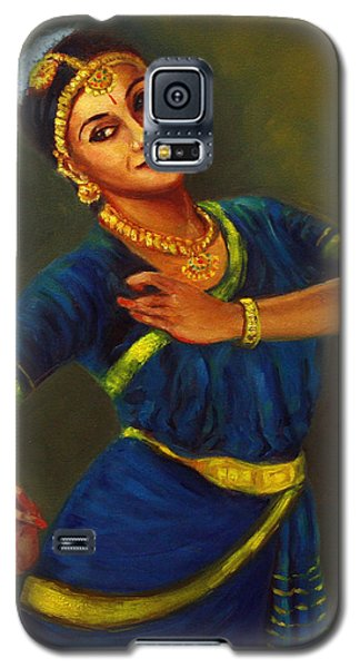 Radha Playing Krishna Galaxy S5 Case