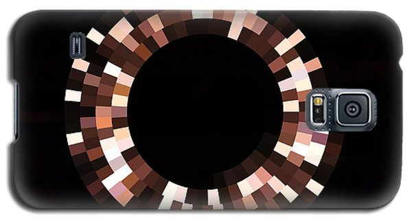 Radial Mosaic In Brown Galaxy S5 Case by Todd Soderstrom