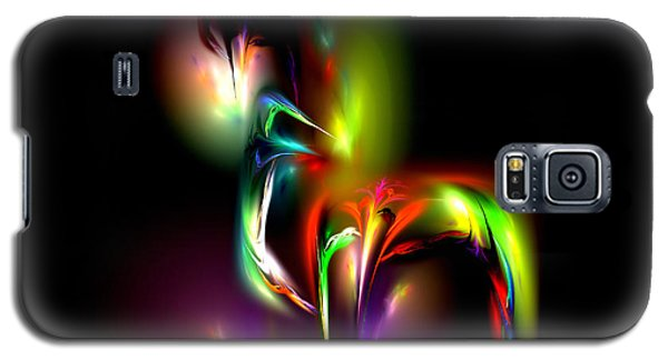 Galaxy S5 Case featuring the digital art Radiance by Pete Trenholm