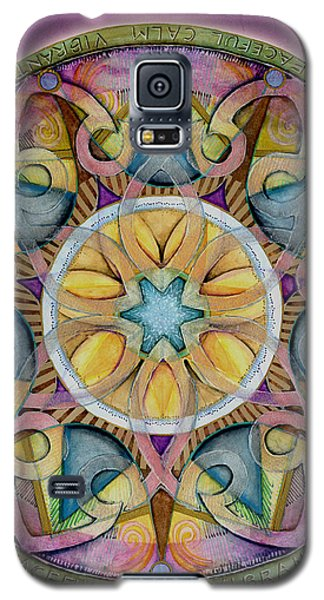 Radiant Health Mandala Galaxy S5 Case