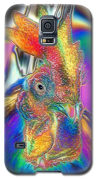 Radiant Rooster Galaxy S5 Case by Patrick Witz