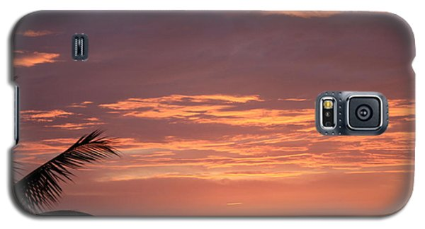 Galaxy S5 Case featuring the photograph Radiant Sunset 2 by Karen Nicholson