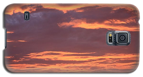 Galaxy S5 Case featuring the photograph Radiant Sunset 3 by Karen Nicholson