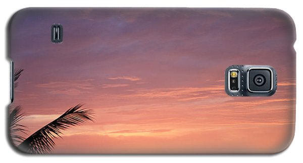 Galaxy S5 Case featuring the photograph Radiant Sunset by Karen Nicholson