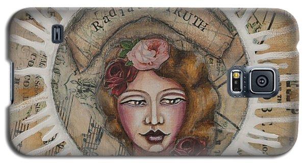 Radiate Truth Inspirational Folk Art Galaxy S5 Case by Stanka Vukelic