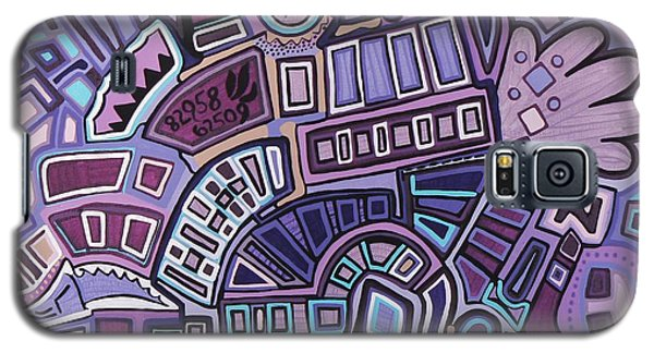 Radio Active Galaxy S5 Case by Barbara St Jean
