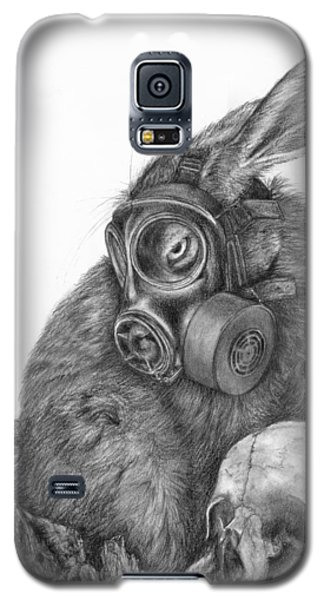 Radioactive Black And White Galaxy S5 Case