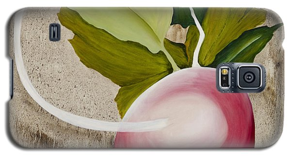Galaxy S5 Case featuring the painting Radish by Stuart Engel