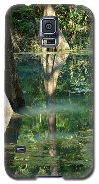 Radium Springs Creek In The Summertime Galaxy S5 Case by Kim Pate
